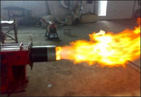 秸秆气燃烧器