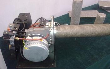 金属纤维低氮燃烧器